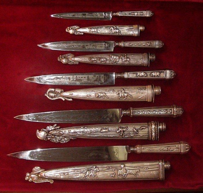 Ножи гаучо./Фото: cutlerycollectors.com